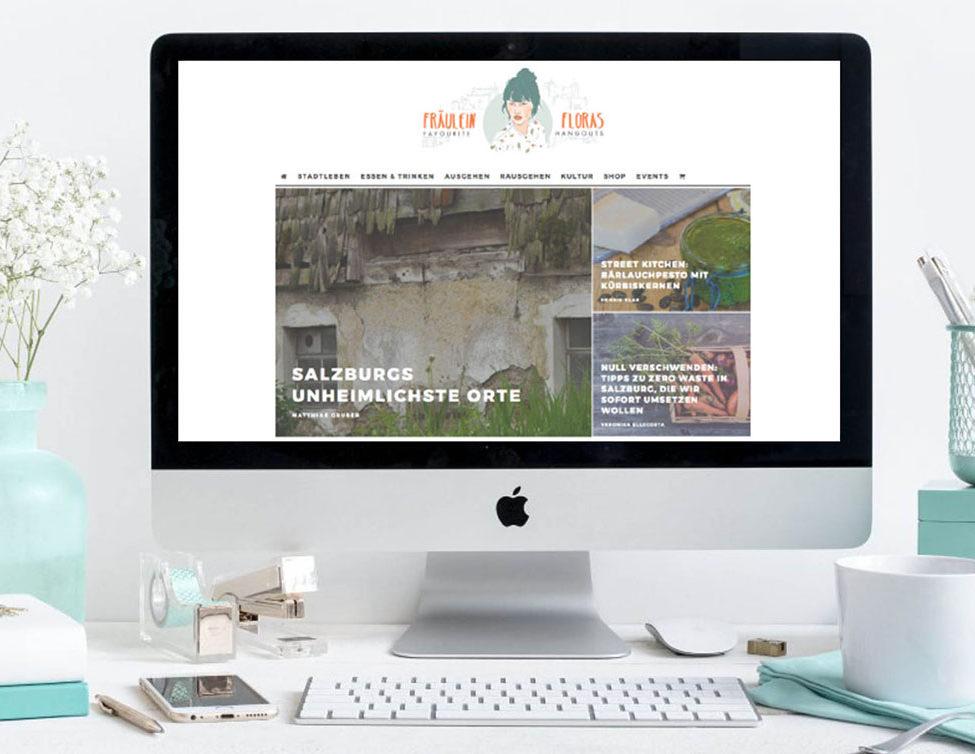 Fraeulein Flora ist ein junges Salzburger Stadtmagazin