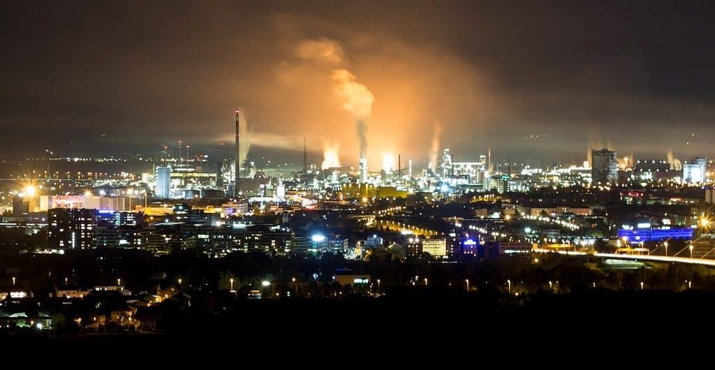 Der Himmel brennt in Linz