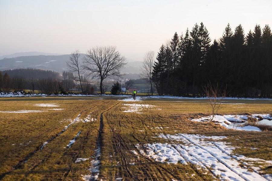 Giselawarte mit Schnee