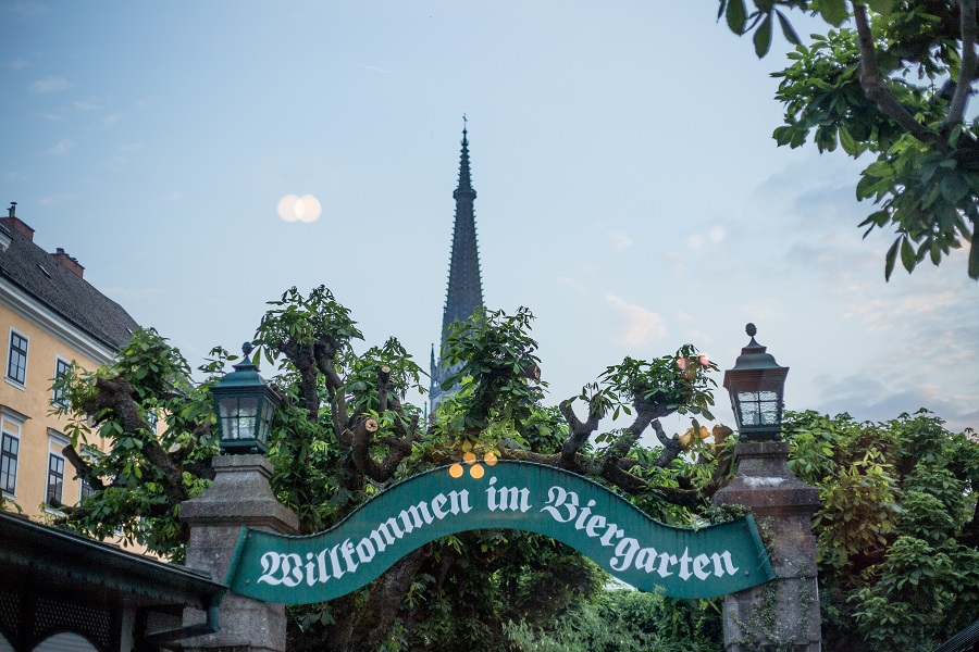 Klosterhof Biergarten Linz
