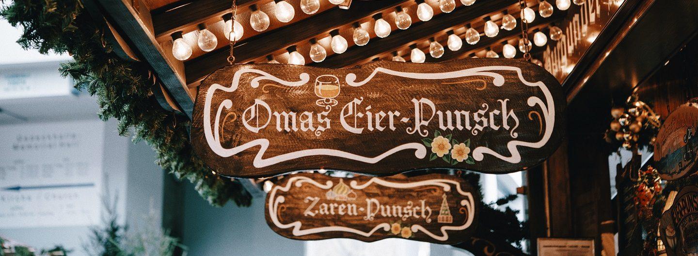 Gluehwein und Punsch in Linz