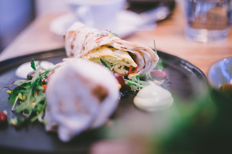 Breakfast Burrito im Little Dancer Linz