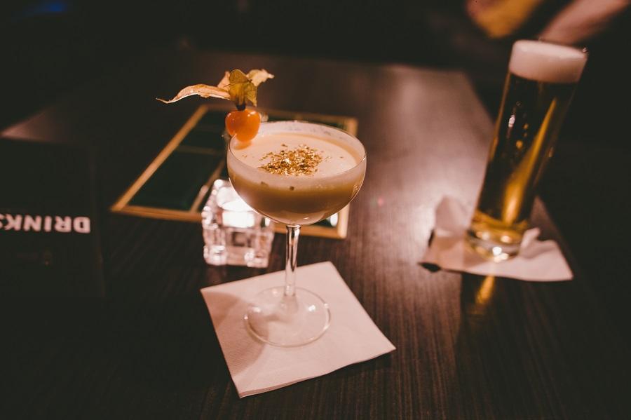 Cocktails im Goldenen Einhorn Linz