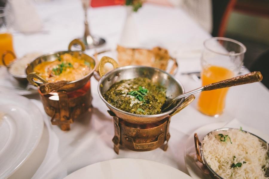 Indisch Essen im Royal Bombay Palace Linz
