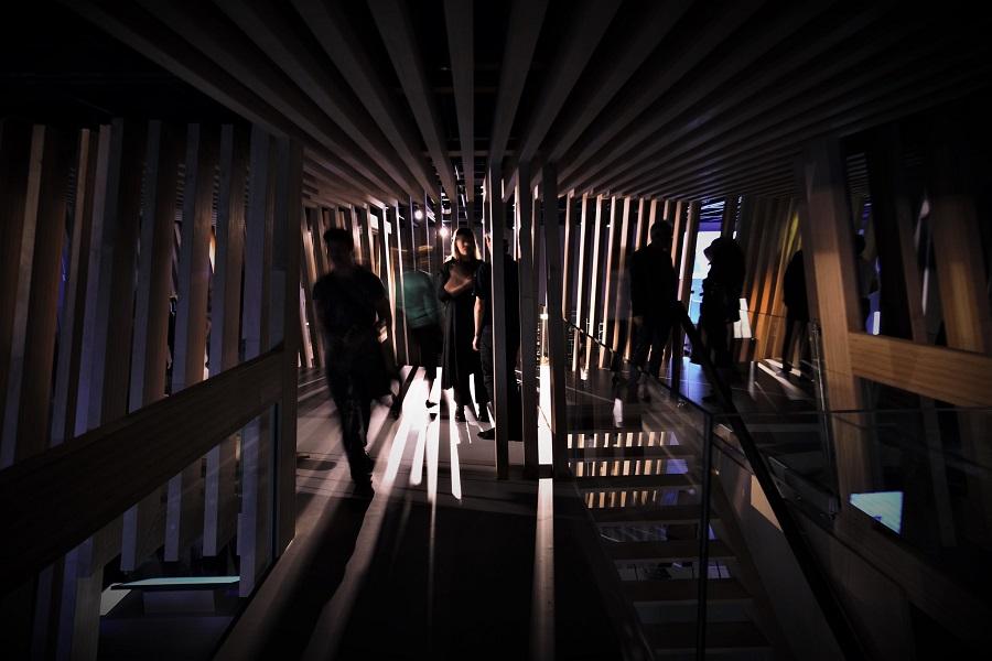 Atmo im neuen Ars Electronica Center
