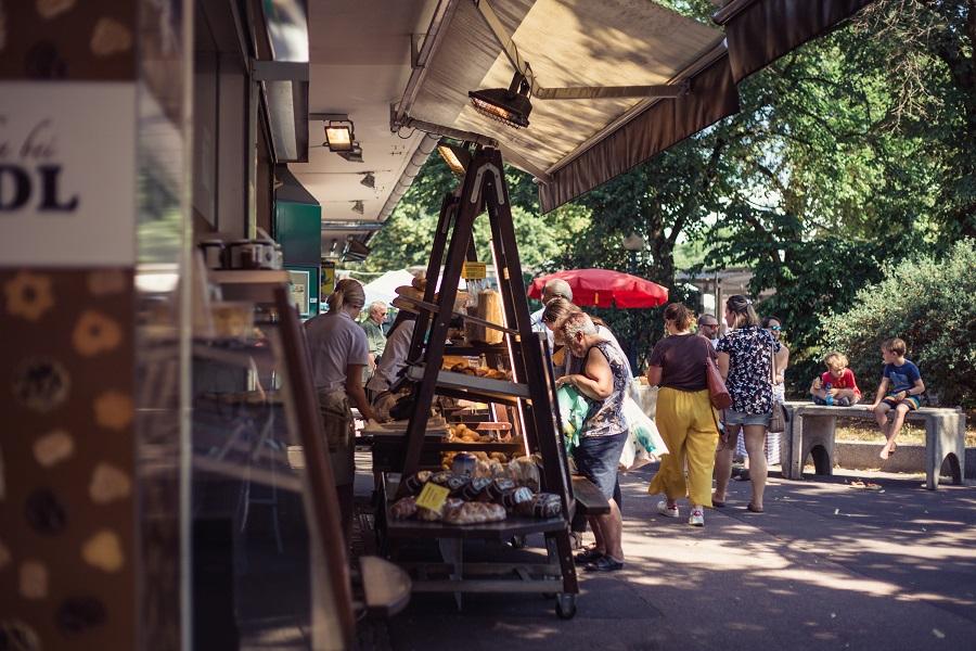 Markt bei der Food Safari Linz