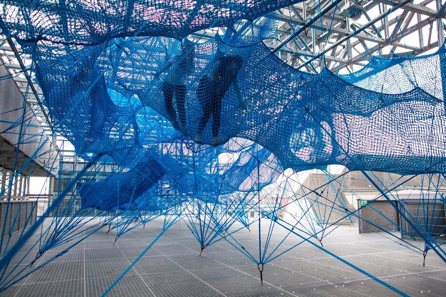 Netz zum Klettern Sinnesrausch Linz 2019