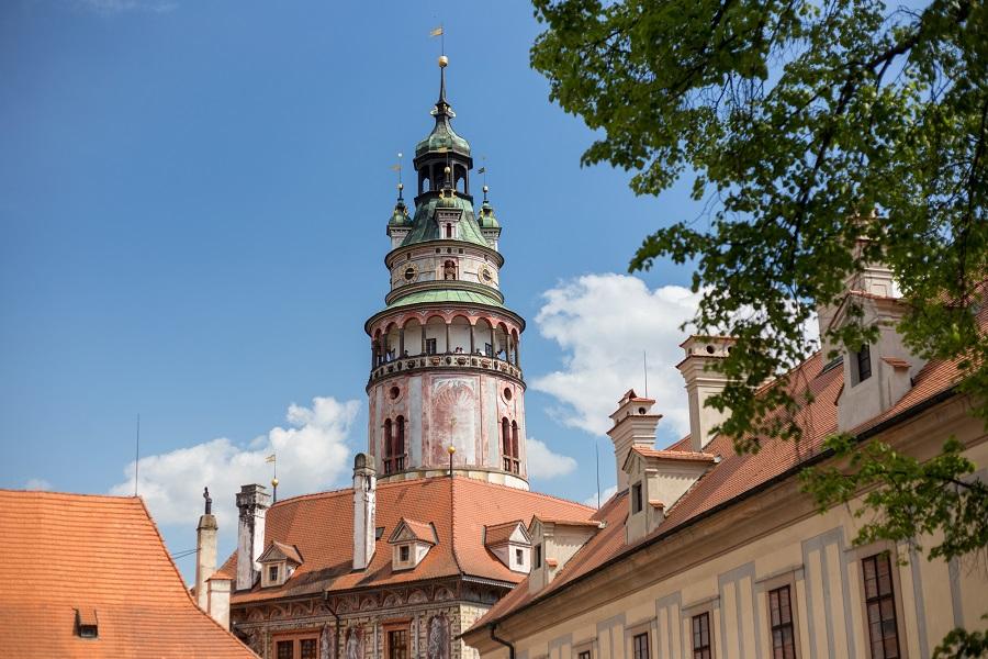 Schloss in Krumau