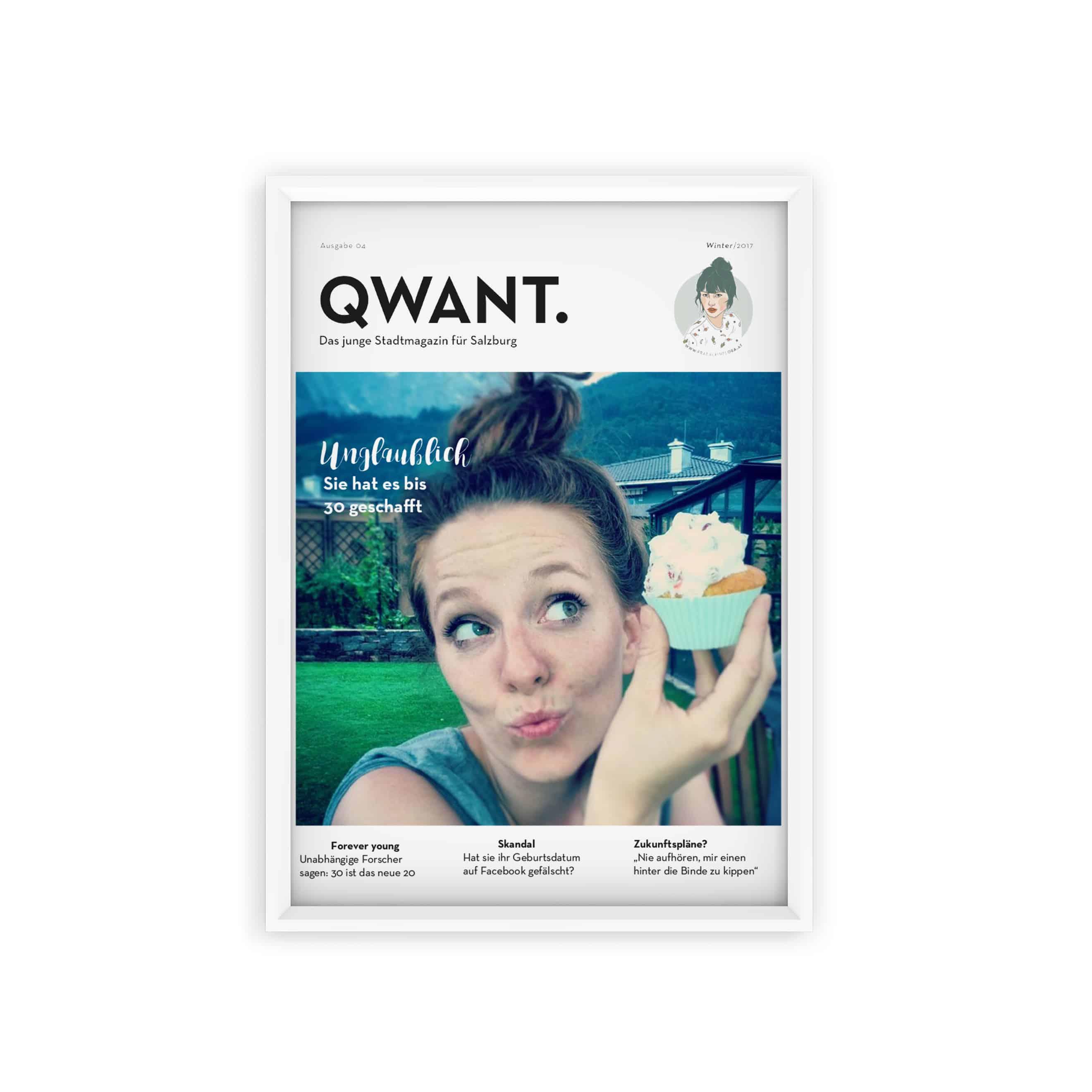 Erstelle dein eigenes QWANT. Cover