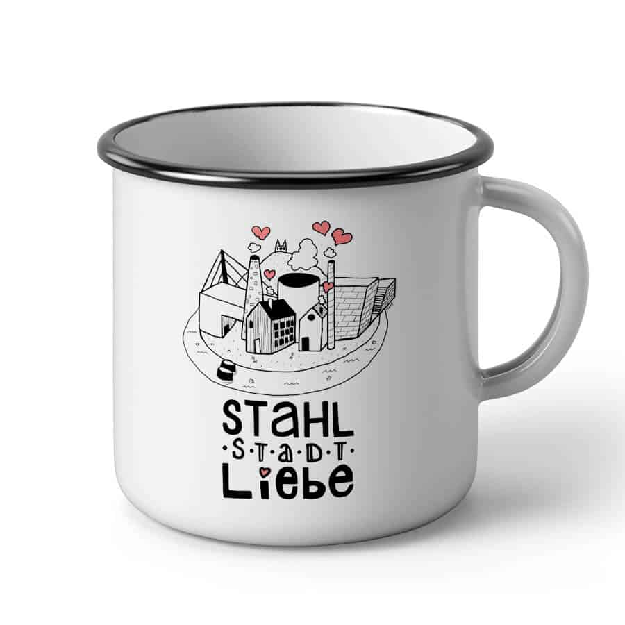 Tasse Stahlstadt Liebe LINZ