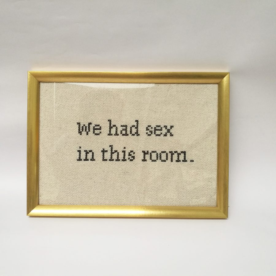 We had Sex in this Room